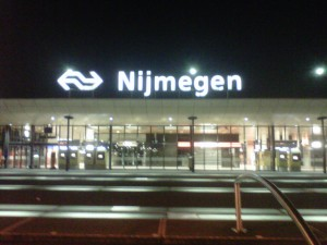 Arriving in Nijmegen at 1230am_7829959834_o